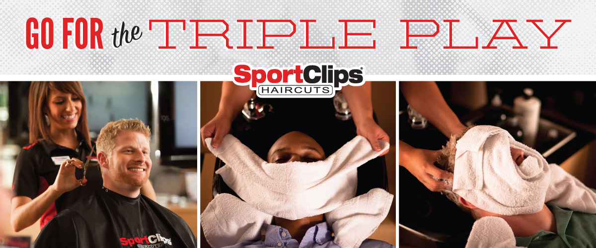 The Sport Clips Haircuts of Des Plaines Triple Play