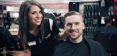 Sport Clips Haircuts of Des Plaines​ stylist hair cut